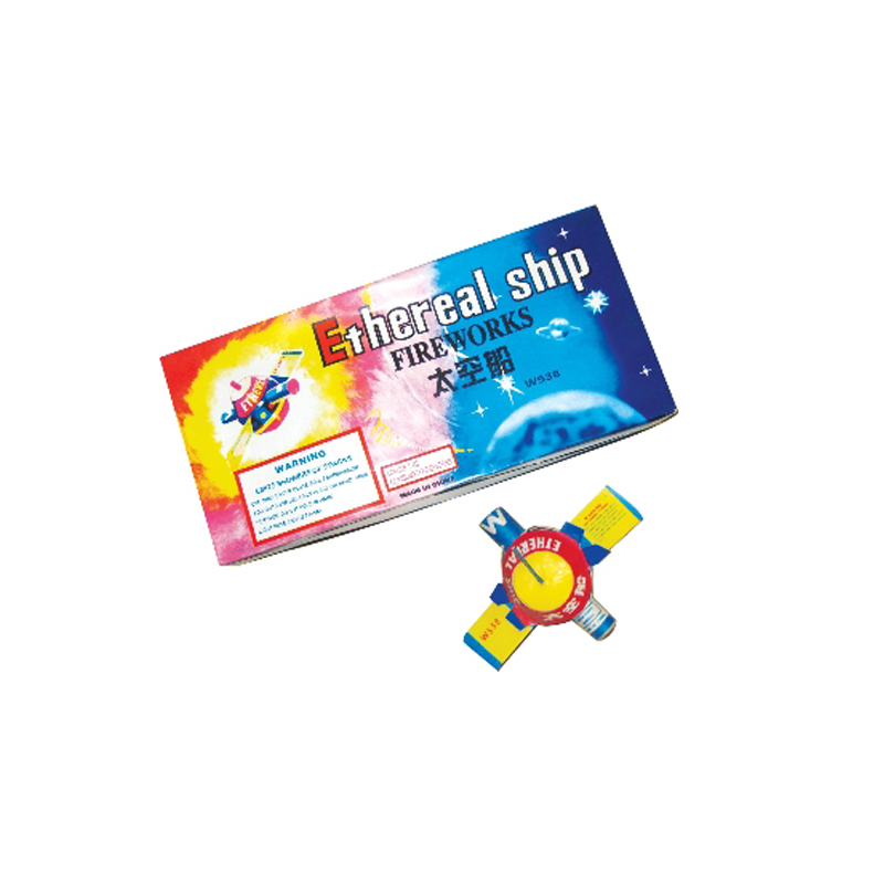 Ethereal Ship Fireworks