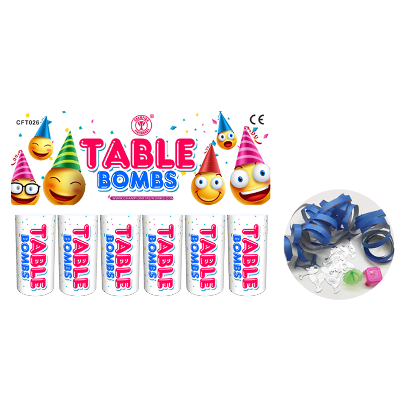 8CM Table Bomb Fireworks