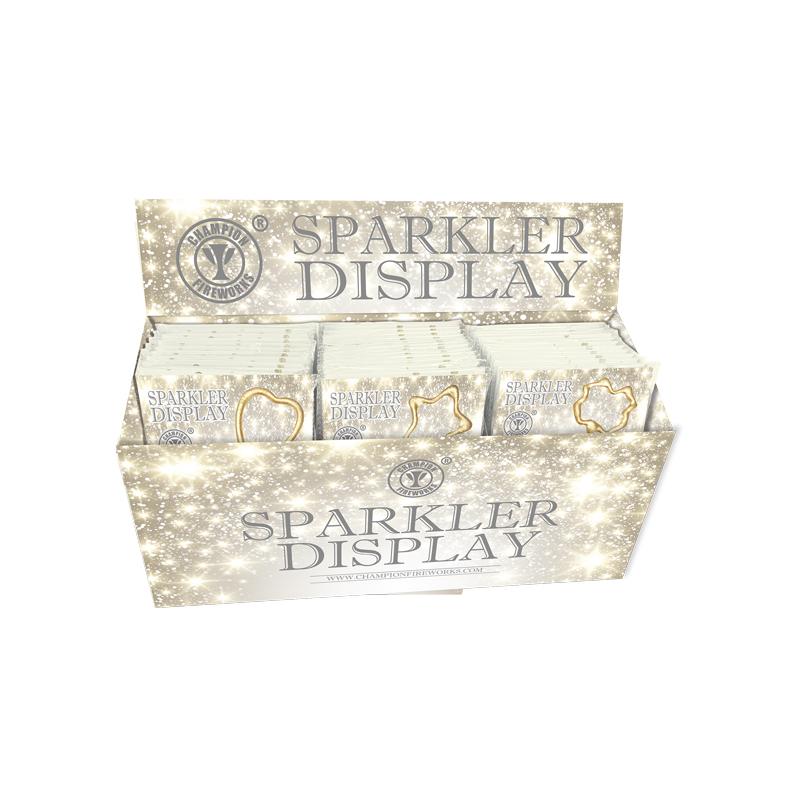 36 Cards Mini Sparklers Display Box