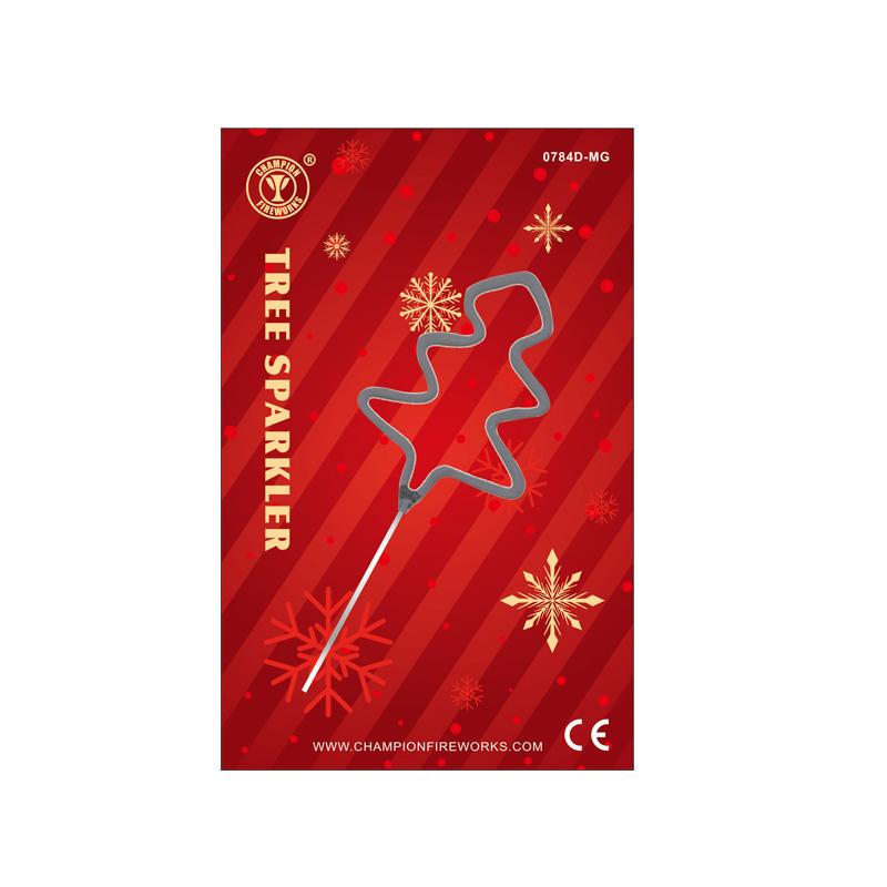 Mini Tree Sparkler In Gift Card