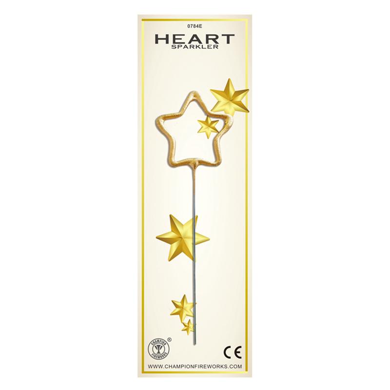 Gold Star Sparkler Fireworks