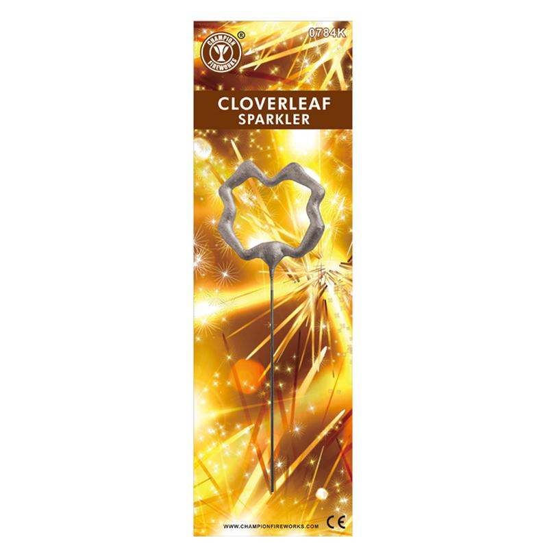 Cloverleaf Shaped Sparkler Fireworks