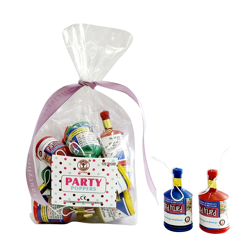 Champagne Party Popper Fireworks